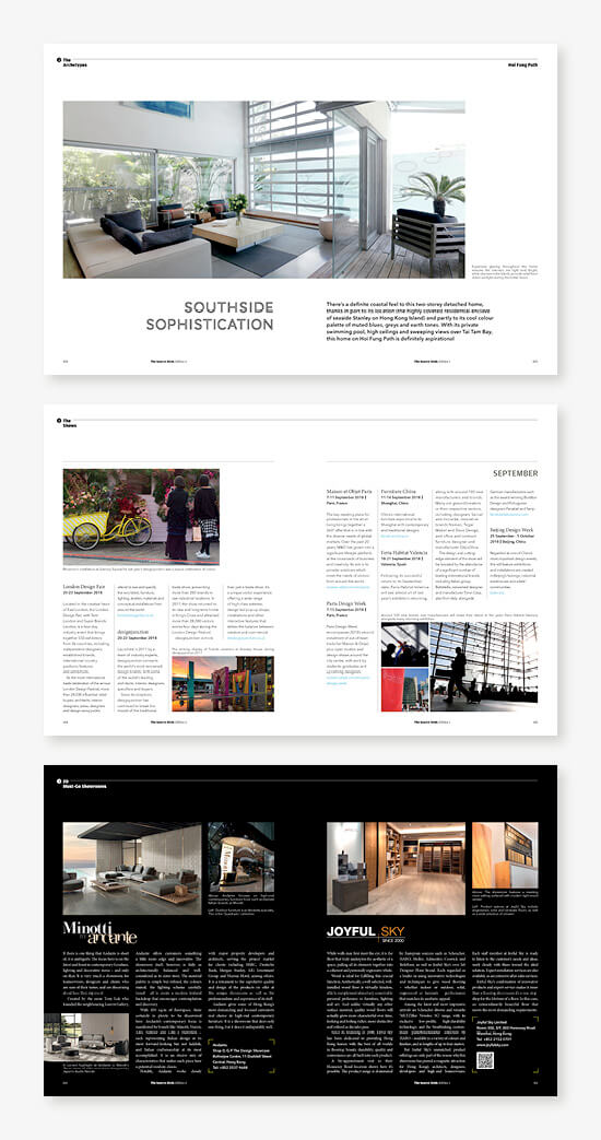 THE SOURCE homepage showcase e - Contents