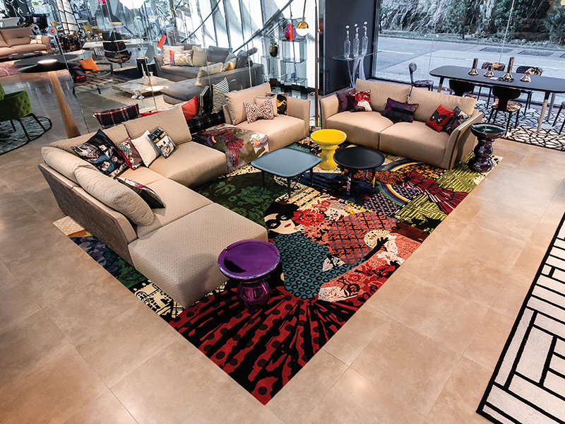 THE SOURCE must go showroom rochebobois 02 thumbnail - Roche Bobois