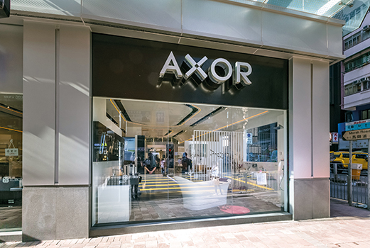 THE SOURCE vote showroom axor index - MUST-GO SHOWROOMS