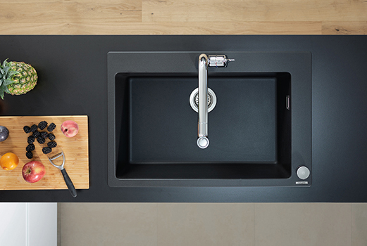 THE SOURCE vote heroproduct Hansgrohe SilicaTec granite sink index - HERO PRODUCTS