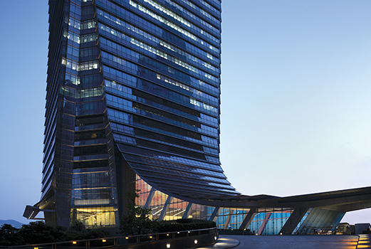THE SOURCE vote architecture International Commerce Centre index - ARCHITECTURE