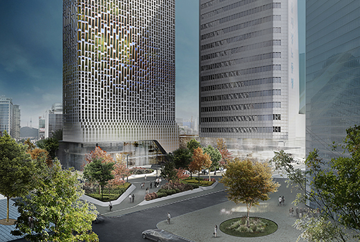 THE SOURCE vote architecture Hanwha Headquarters Remodelling index - ARCHITECTURE