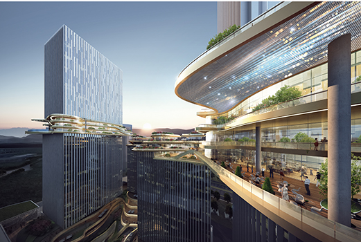 THE SOURCE vote architecture Hengqin CRCC Plaza index - ARCHITECTURE