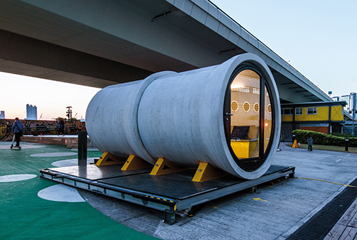 THE SOURCE vote architecture OPod Tube Housing index - ARCHITECTURE
