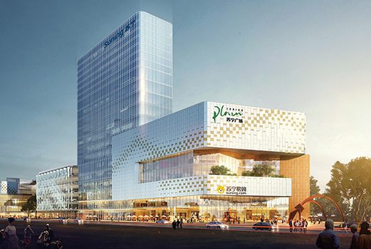 THE SOURCE vote architecture Suning Xi'an High tech Zone index - ARCHITECTURE