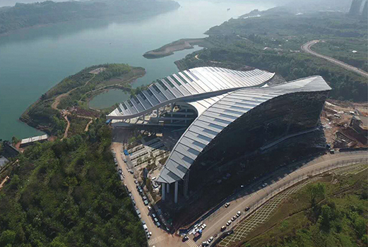 THE SOURCE vote architecture Integrated E Sports Stadium index - ARCHITECTURE